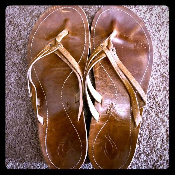 a804a149be48 OluKai Women s U I Thong Sandals Sz 10. M 5a3d5bad8af1c57059026dda